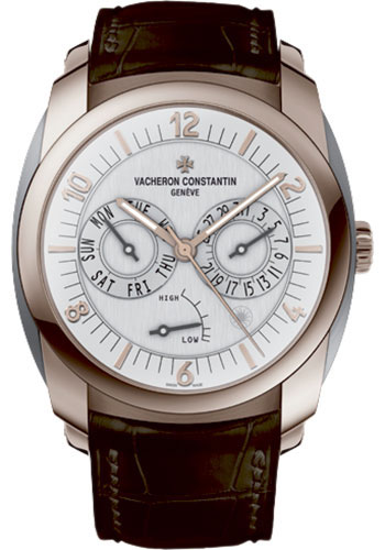 Vacheron Constantin Watches - Quai de l'Ile Day-Date and Power Reserve - Style No: 85050/000R-I0P2A