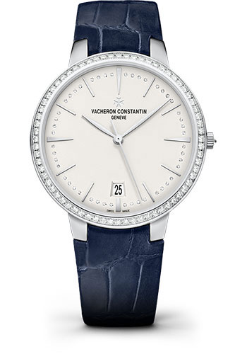 Vacheron Constantin Watches - Patrimony Small Model With Date - Style No: 85515/000G-9841
