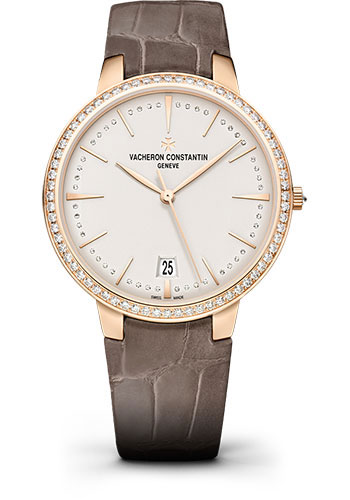Vacheron Constantin Watches - Patrimony Small Model With Date - Style No: 85515/000R-9840