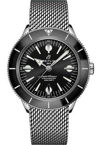 Breitling Watches - Superocean Heritage 57 Stainless Steel - Metal Bracelet - Style No: A10370121B1A1
