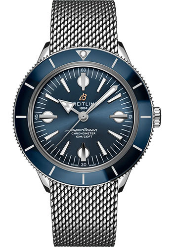 Breitling Watches - Superocean Heritage 57 Stainless Steel - Metal Bracelet - Style No: A10370161C1A1