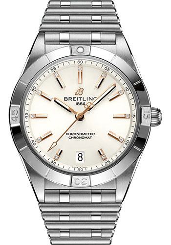 Breitling Watches - Chronomat Automatic 36 Stainless Steel - Metal Bracelet - Style No: A10380101A2A1
