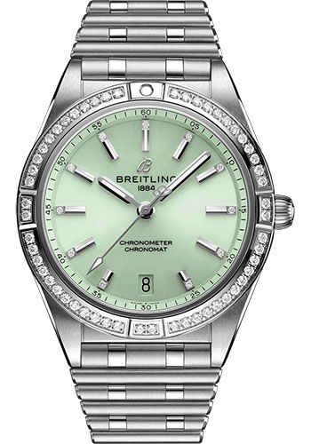 Breitling Watches - Chronomat Automatic 36 Stainless Steel - Metal Bracelet - Style No: A10380591L1A1