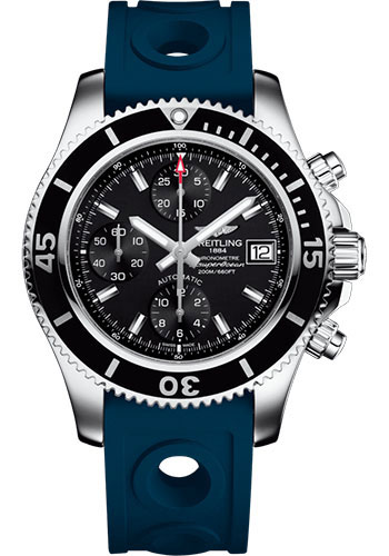 Breitling Watches - Superocean Chronograph 42 Ocean Racer II Strap - Tang - Style No: A13311C9/BF98/229S/A18S.1