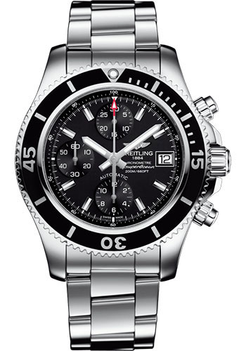 Breitling Watches - Superocean Chronograph 42 Steel Professional III Bracelet - Style No: A13311C91B1A1