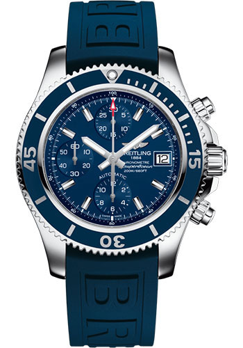 Breitling Watches - Superocean Chronograph 42 Diver Pro III Strap - Tang Buckle - Style No: A13311D1/C971/148S/A18S.1