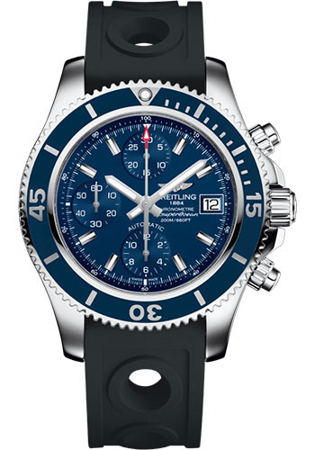 Breitling Watches - Superocean Chronograph 42 Ocean Racer II Strap - Tang - Style No: A13311D1/C971/225S/A18S.1