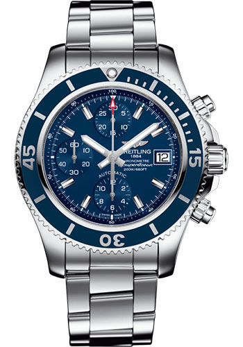 Breitling Watches - Superocean Chronograph 42 Steel Professional III Bracelet - Style No: A13311D11C1A1