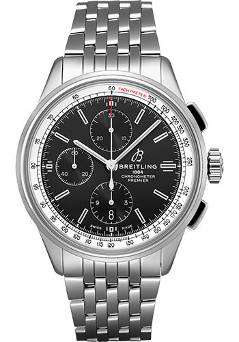 Breitling Watches - Premier Chronograph 42mm - Navitimer Bracelet - Style No: A13315351B1A1