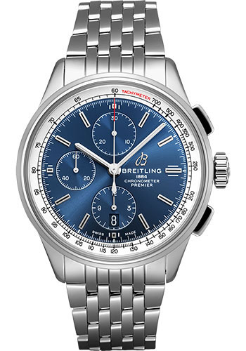 Breitling Watches - Premier Chronograph 42 Navitimer Bracelet - Style No: A13315351C1A1