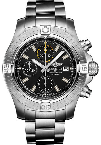 Breitling Watches - Avenger Chronograph 45 Stainless Steel - Metal Bracelet - Style No: A13317101B1A1