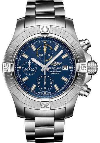 Breitling Watches - Avenger Chronograph 45 Stainless Steel - Metal Bracelet - Style No: A13317101C1A1