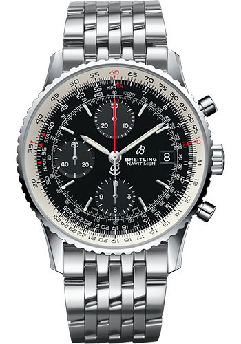 Breitling Watches - Navitimer 1 Chronograph 41mm - Stainless Steel - Pilot Bracelet - Style No: A13324121B1A1