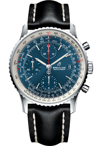 Breitling Watches - Navitimer 1 Chronograph 41mm - Stainless Steel - Leather Strap - Style No: A13324121C1X1