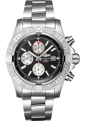 Breitling Watches - Super Avenger II Stainless Steel Bracelet - Style No: A13371111B1A1