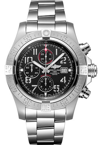 Breitling Watches - Super Avenger II Stainless Steel Bracelet - Style No: A13371111B2A1