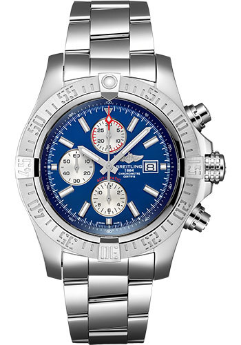Breitling Watches - Super Avenger II Stainless Steel Bracelet - Style No: A13371111C1A1