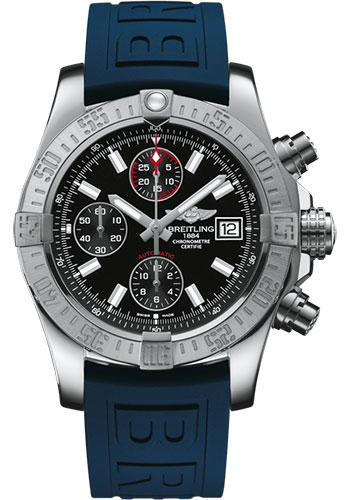 Breitling Watches - Avenger II Diver Pro III Strap - Deployant Buckle - Style No: A1338111/BC32/157S/A20D.2