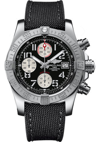Breitling Watches - Avenger II Military Strap - Tang Buckle - Style No: A1338111/BC33/109W/A20BA.1