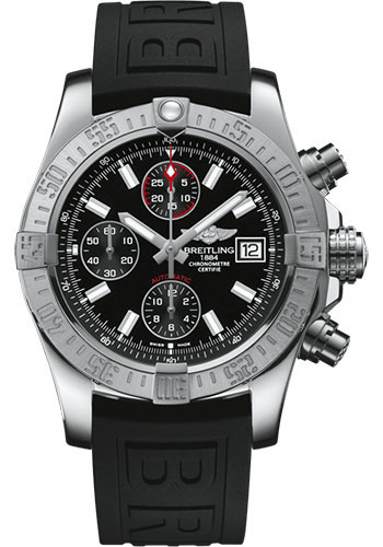 Breitling Watches - Avenger II Diver Pro III Strap - Deployant Buckle - Style No: A13381111B1S1