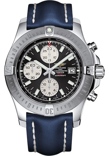 Breitling Watches - Colt Chronograph Automatic Leather Strap - Deployant - Style No: A1338811/BD83/112X/A20D.1