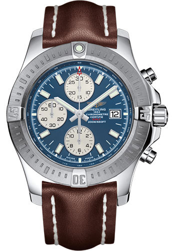 Breitling Watches - Colt Chronograph Automatic Leather Strap - Tang - Style No: A1338811/C914/437X/A20BA.1
