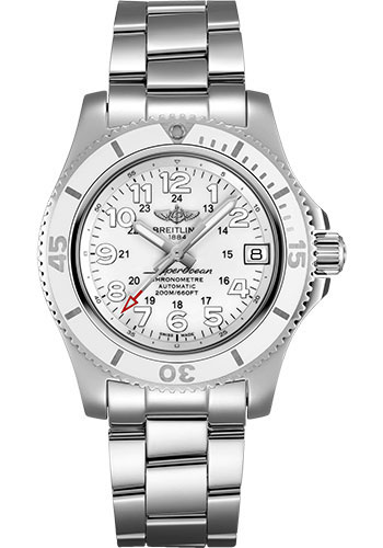 Breitling Watches - Superocean Automatic 36mm - Professional III Bracelet - Style No: A17312D21A1A1