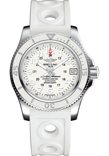 Breitling Watches - Superocean Automatic 36mm - Ocean Racer II Strap - Style No: A17312D21A1S1