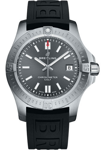 Breitling Watches - Colt Automatic 41mm - Diver Pro III Strap - Deployant - Style No: A17313101F1S1
