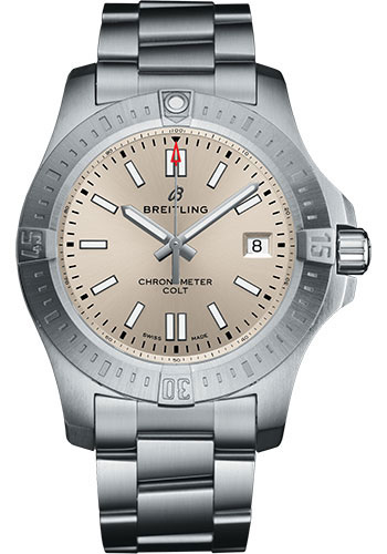 Breitling Watches - Colt Automatic 41mm - Pilot Bracelet - Style No: A17313101G1A1