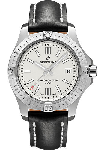 Breitling Watches - Colt Automatic 41mm - Leather Strap - Deployant - Style No: A17313101G1X2