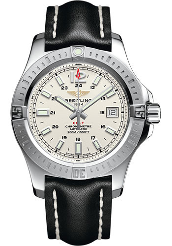 Breitling Watches - Colt Automatic 41mm - Leather Strap - Tang - Style No: A1731311/G820/428X/A18BA.1