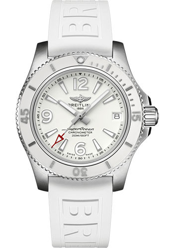 Breitling Watches - Superocean Automatic 36mm - Diver Pro III Strap - Tang - Style No: A17316D21A1S1