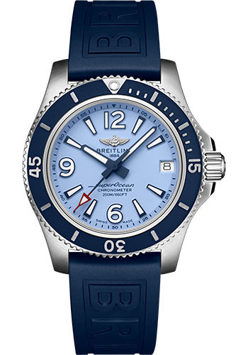 Breitling Watches - Superocean Automatic 36mm - Diver Pro III Strap - Tang - Style No: A17316D81C1S1
