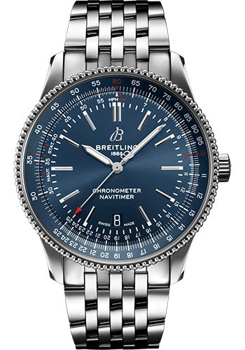 Breitling Watches - Navitimer Automatic 41mm - Stainless Steel - Metal Bracelet - Style No: A17326161C1A1