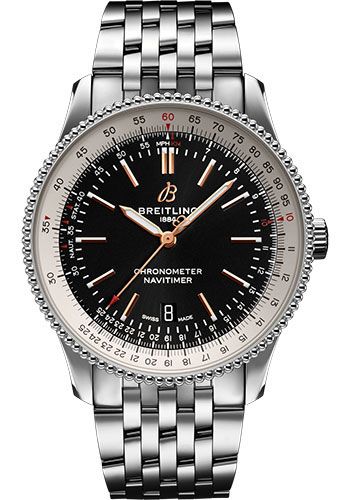 Breitling Watches - Navitimer Automatic 41mm - Stainless Steel - Navitimer Bracelet - Style No: A17326211B1A1