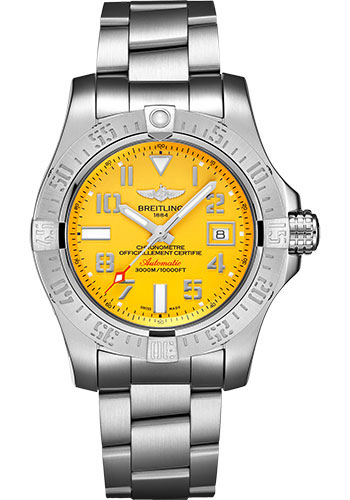 Breitling Watches - Avenger II Seawolf Stainless Steel Bracelet - Style No: A17331101I1A1