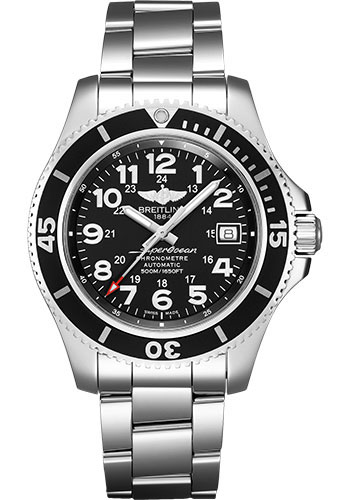 Breitling Watches - Superocean Automatic 42mm - Professional III Bracelet - Style No: A17365C91B1A1