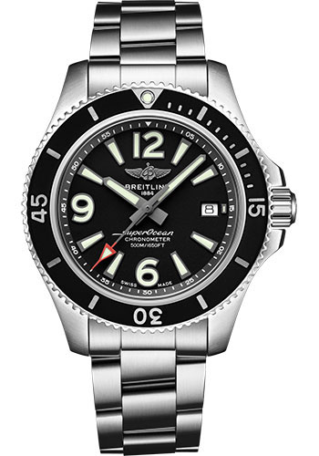 Breitling Watches - Superocean Automatic 42mm - Professional III Bracelet - Style No: A17366021B1A1