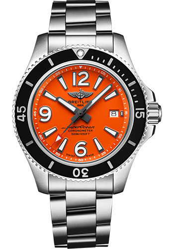 Breitling Watches - Superocean Automatic 42mm - Professional III Bracelet - Style No: A17366D71O1A1