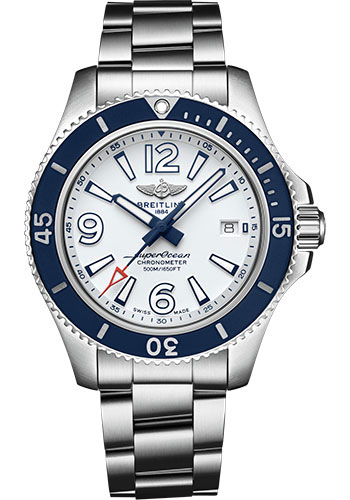 Breitling Watches - Superocean Automatic 42mm - Professional III Bracelet - Style No: A17366D81A1A1