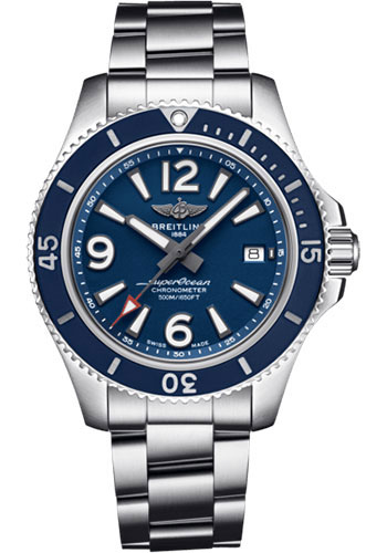 Breitling Watches - Superocean Automatic 42mm - Professional III Bracelet - Style No: A17366D81C1A1
