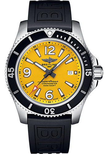 Breitling Watches - Superocean Automatic 44mm - Diver Pro III Strap - Tang - Style No: A17367021I1S1
