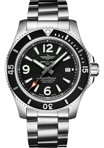 Breitling Watches - Superocean Automatic 44mm - Professional III Bracelet - Style No: A17367D71B1A1