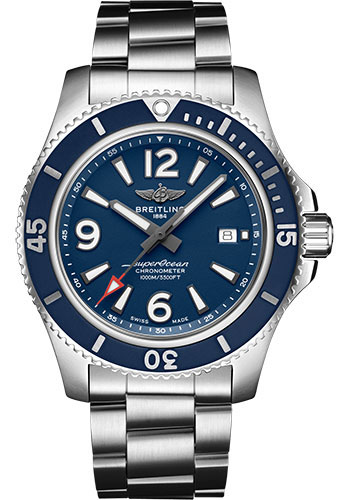 Breitling Watches - Superocean Automatic 44mm - Professional III Bracelet - Style No: A17367D81C1A1