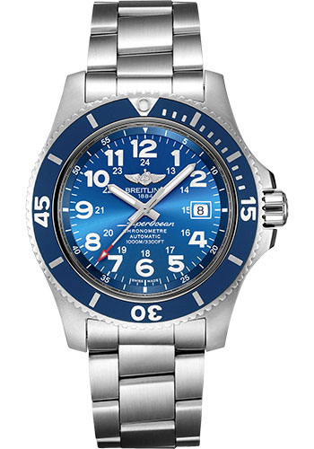 Breitling Watches - Superocean Automatic 44mm - Professional III Bracelet - Style No: A17392D81C1A1