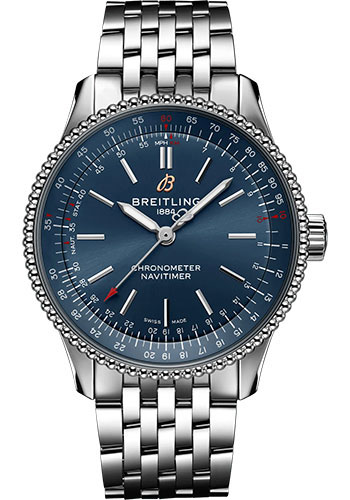 Breitling Watches - Navitimer Automatic 35mm - Stainless Steel - Metal Bracelet - Style No: A17395161C1A1