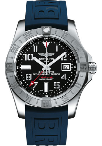 Breitling Watches - Breitling Avenger II GMT Diver Pro III Strap - Deployant Buckle - Style No: A3239011/BC34/157S/A20D.2