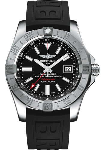 Breitling Watches - Breitling Avenger II GMT Diver Pro III Strap - Tang Buckle - Style No: A32390111B1S2