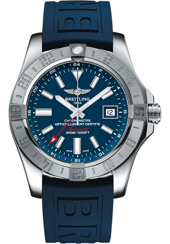 Breitling Watches - Breitling Avenger II GMT Diver Pro III Strap - Tang Buckle - Style No: A32390111C1S2